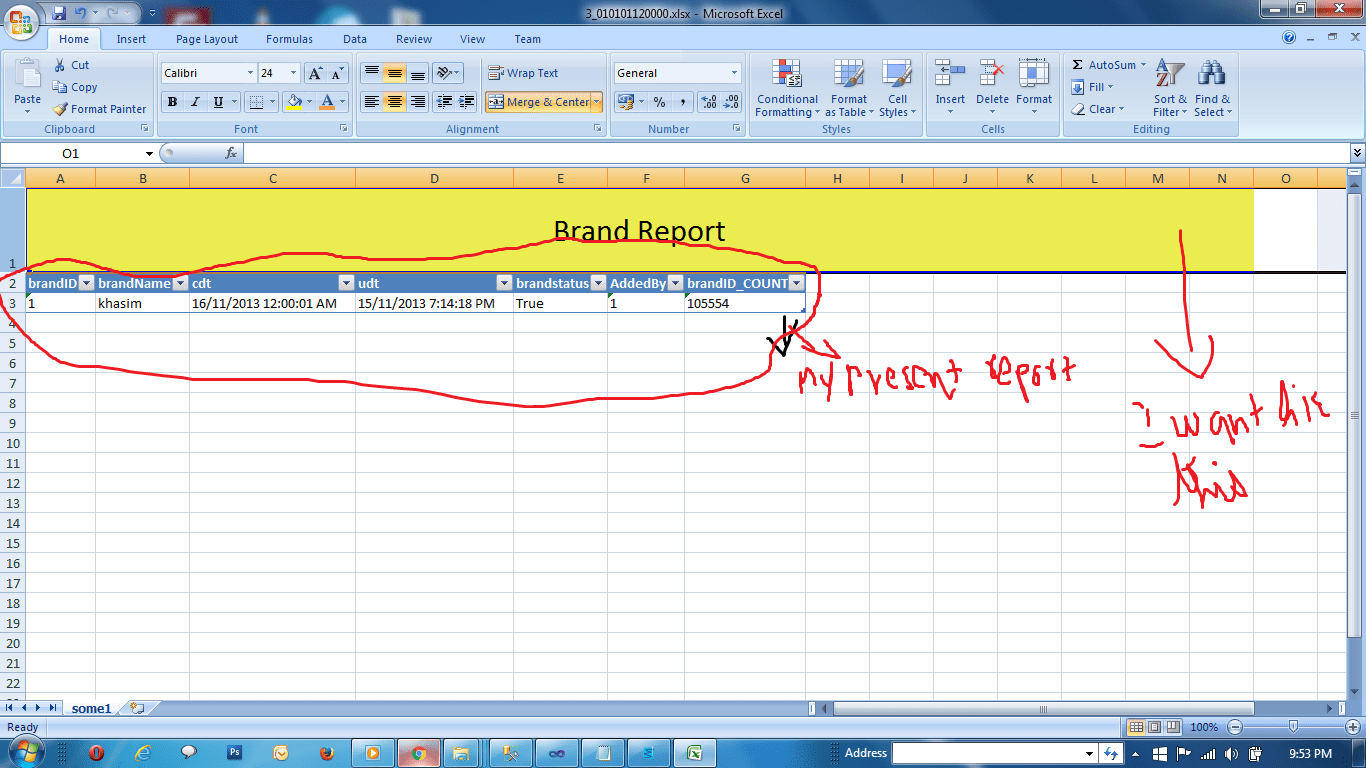Format Export To Excel Using Closedxml With Title