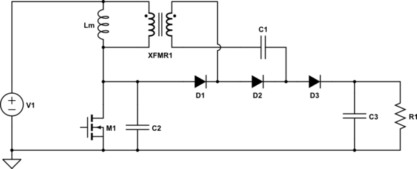 High Step Up DC-DC Converter Switch Mode Power Supply