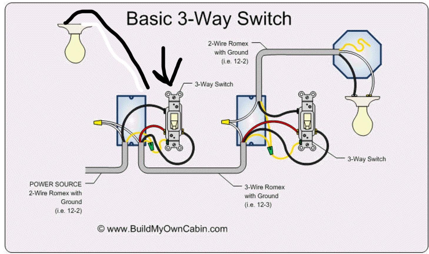 40 Way Switch Wiring Diagram Power At Switch   Novocom.top