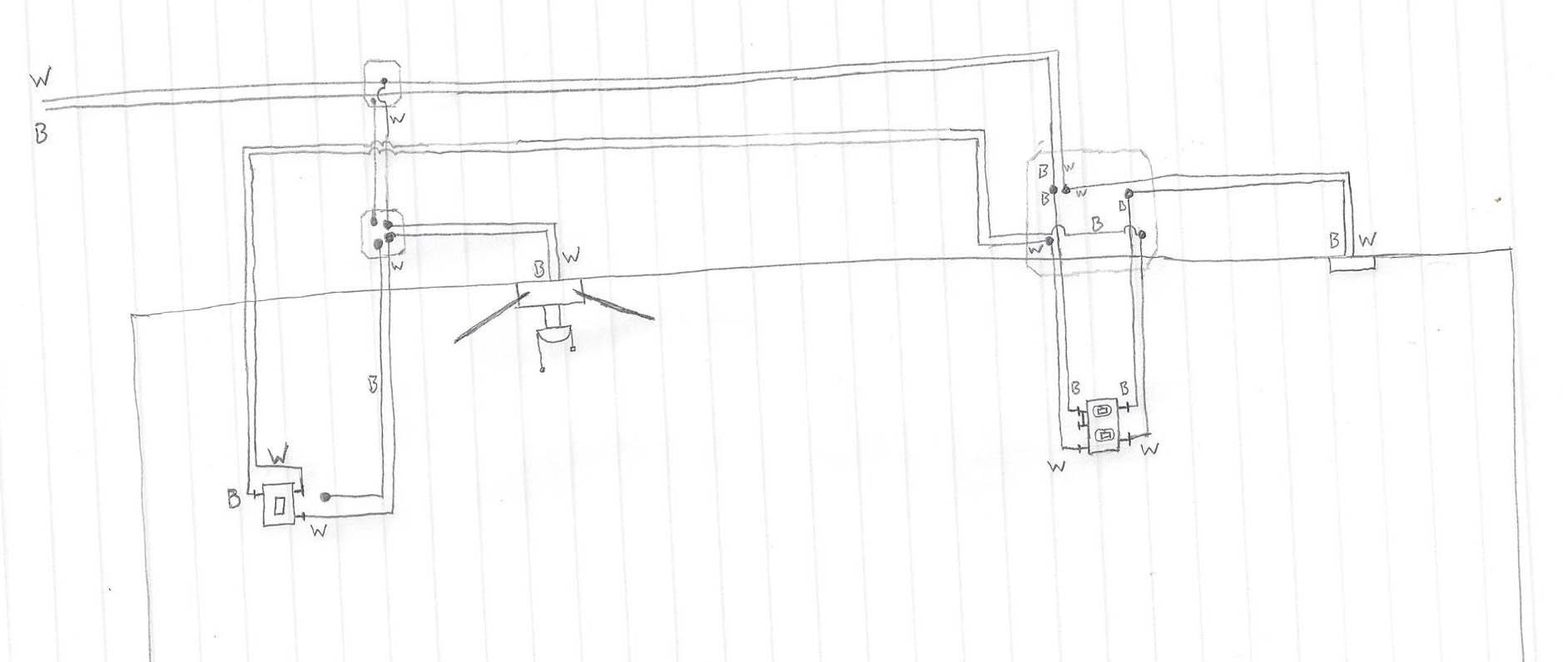 Wiring Diagram For 2 Stacked 3 Way Cwitches : 43 Wiring