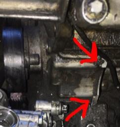 repairing broken power steering pump mounts [ 962 x 1280 Pixel ]