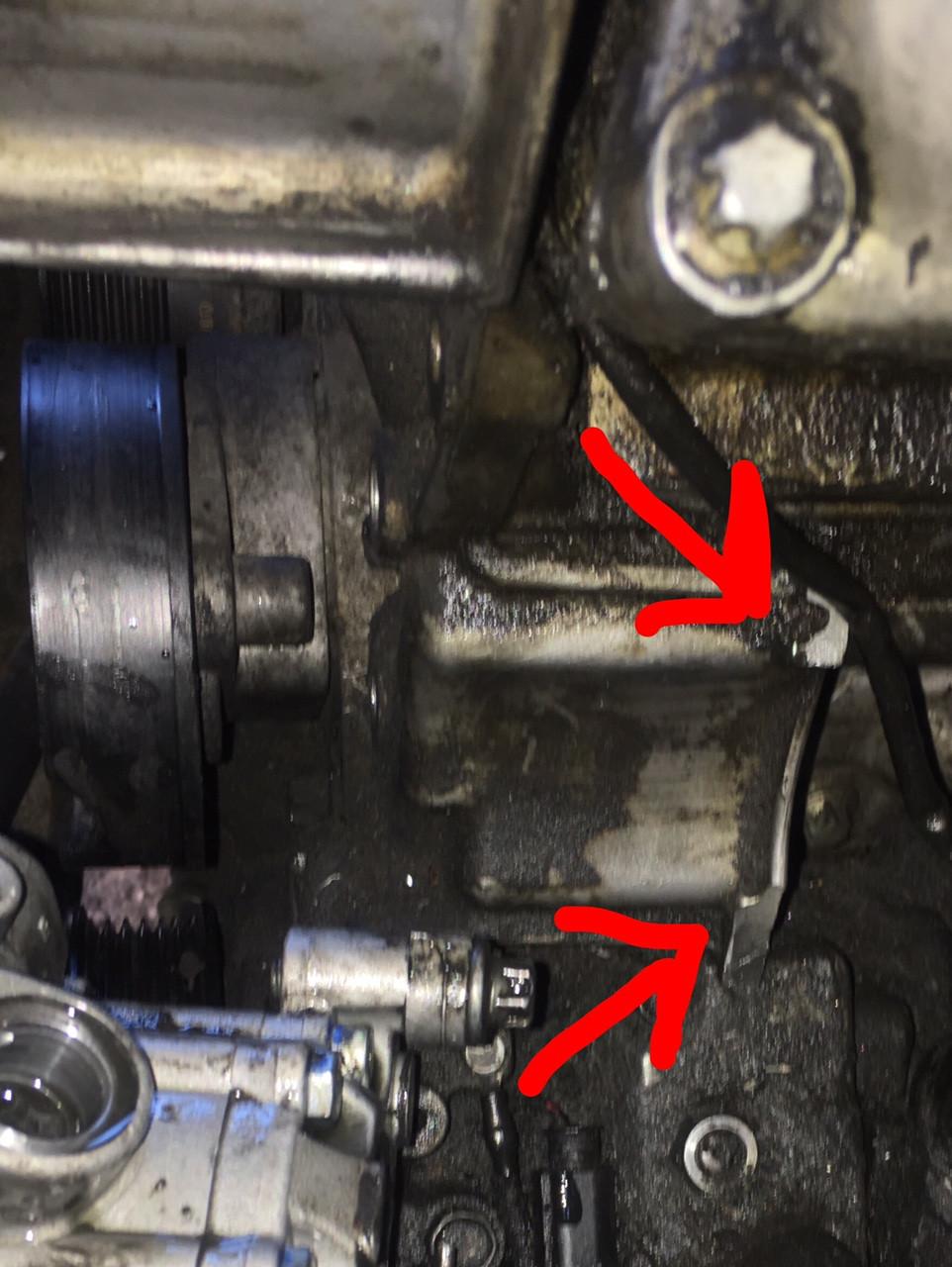 medium resolution of repairing broken power steering pump mounts