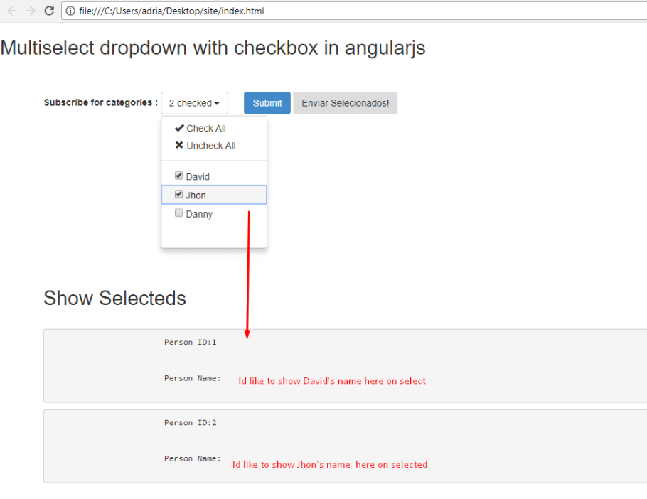 Show AngularJS Dropdown Multiselect checkeds – Angular Questions
