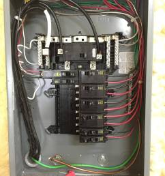 240v panel wiring wiring diagram mix electrical how to connect single phase appliance to 240v feedpanel [ 2448 x 3264 Pixel ]