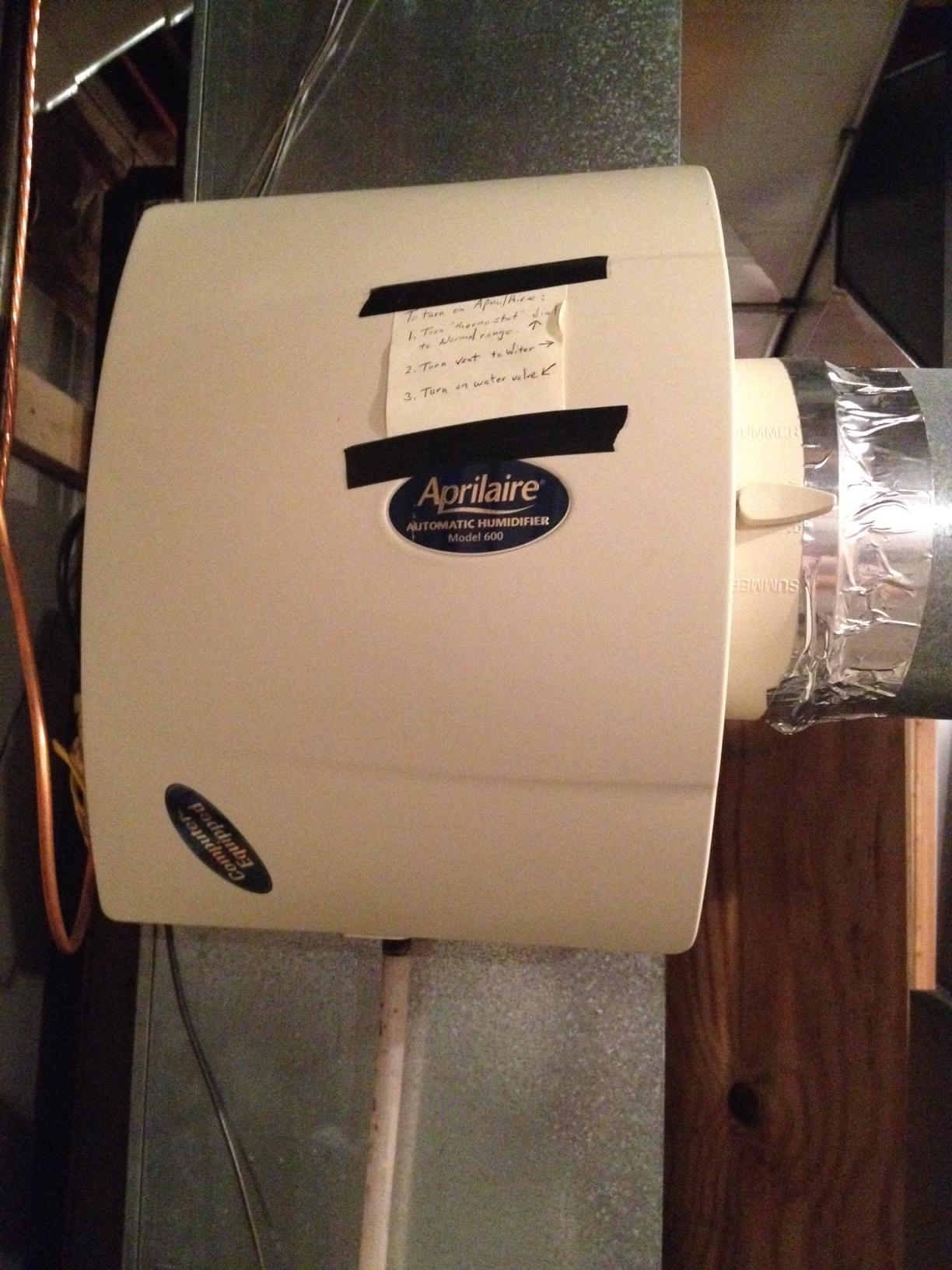 aprilaire 600 manual wiring diagram well tank pressure switch hvac how to diagnose a broken humidifier