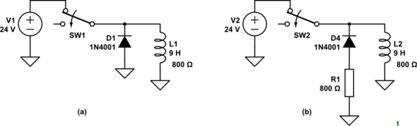 Flyback Diode Relay Coil