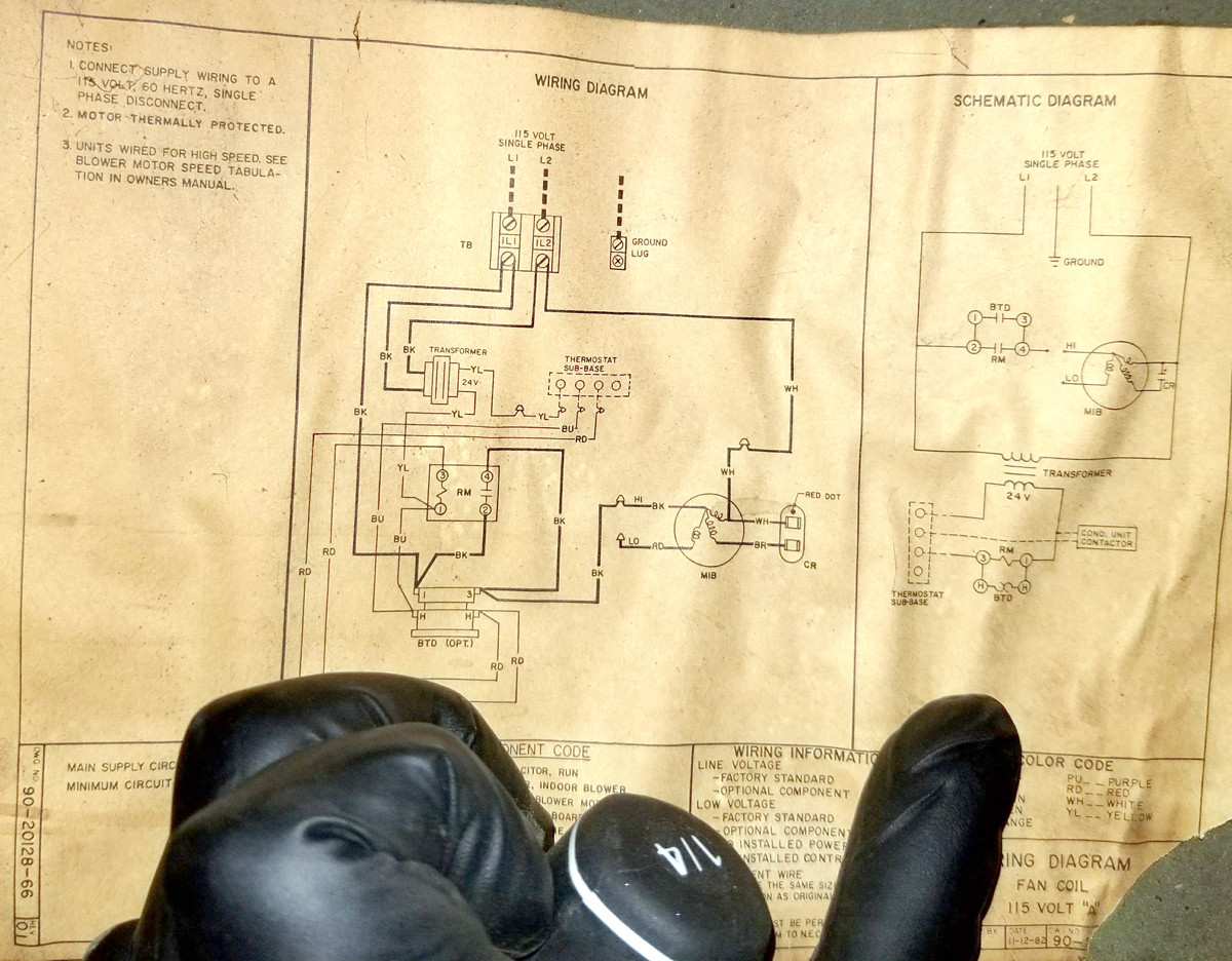 hight resolution of this is the wiring diagram i found inside the air handler wiring box enter image description here