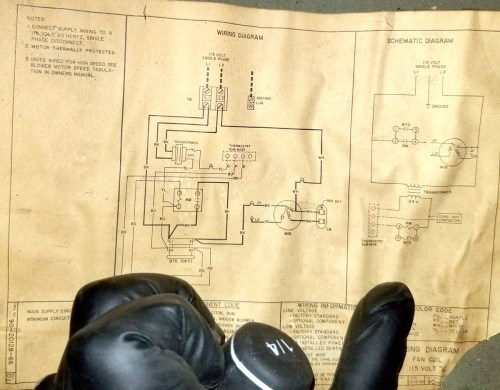 small resolution of this is the wiring diagram i found inside the air handler wiring box enter image description here