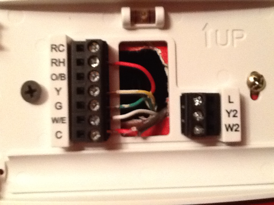 Wiring Why Does Adding A C Wire For A Thermostat Blow The Fuse