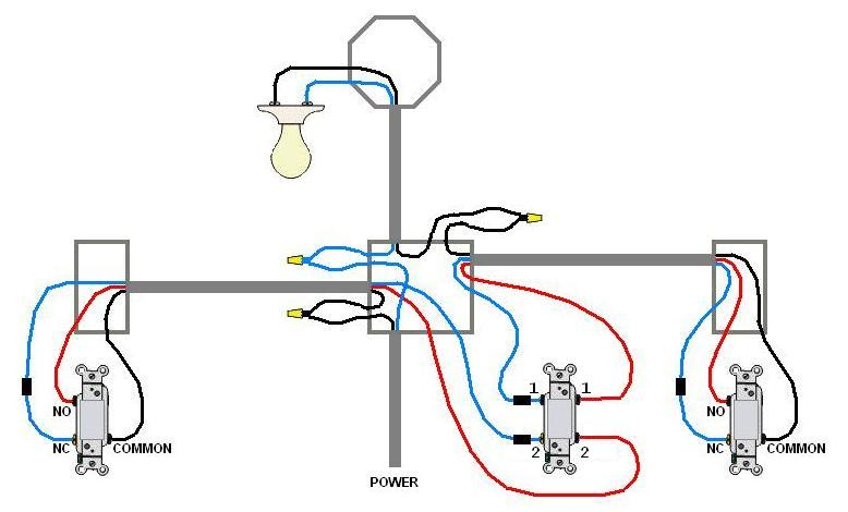 Electrical Can I Bring Power To The 4 Way Switch? Home