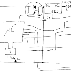 terrible freehand drawing of the circuit [ 3410 x 1632 Pixel ]