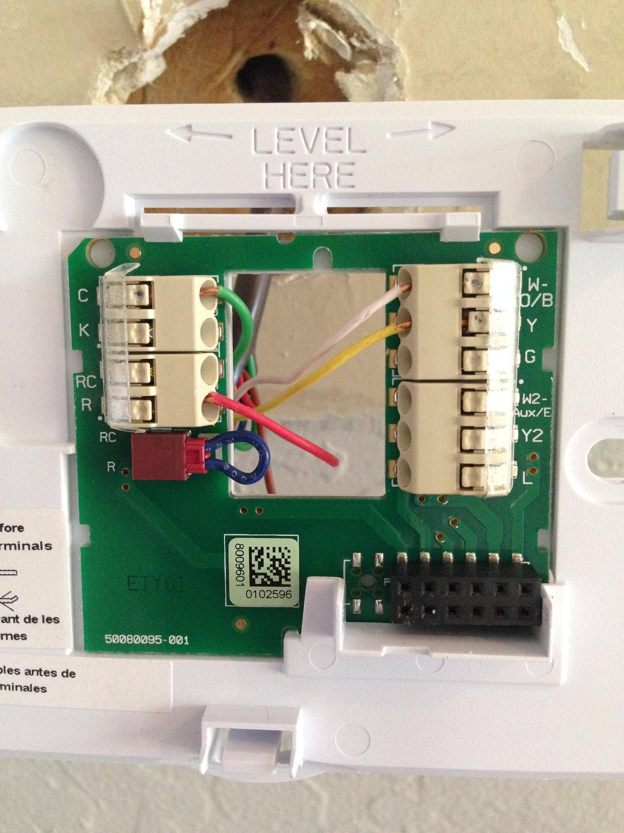 Thermostat Wiring Diagram As Well Honeywell Wi Fi Thermostat Wiring