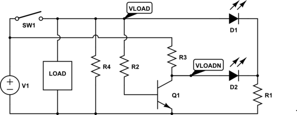 How do I design a circuit for a bi-color led to display