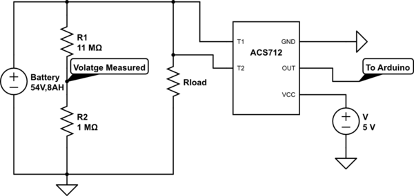 Hall Effect Sensor for Current Sensing in High DC Voltage