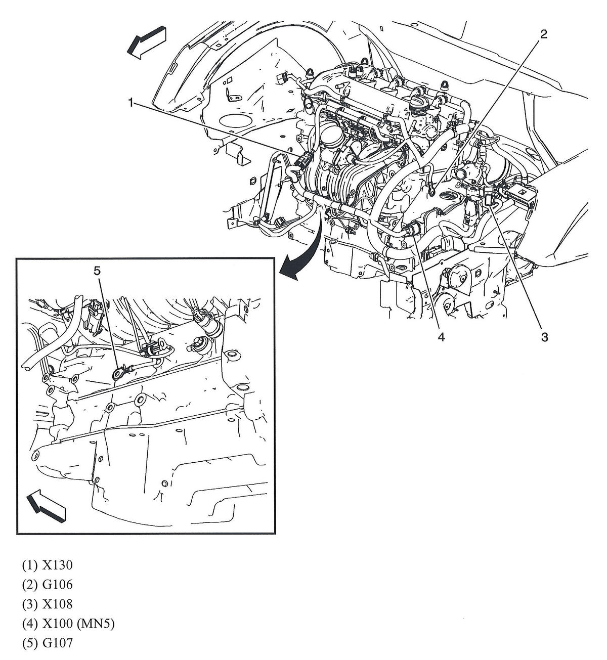 Chevy Impala 2006 Battery On Engine Diagram 2005 Chevy