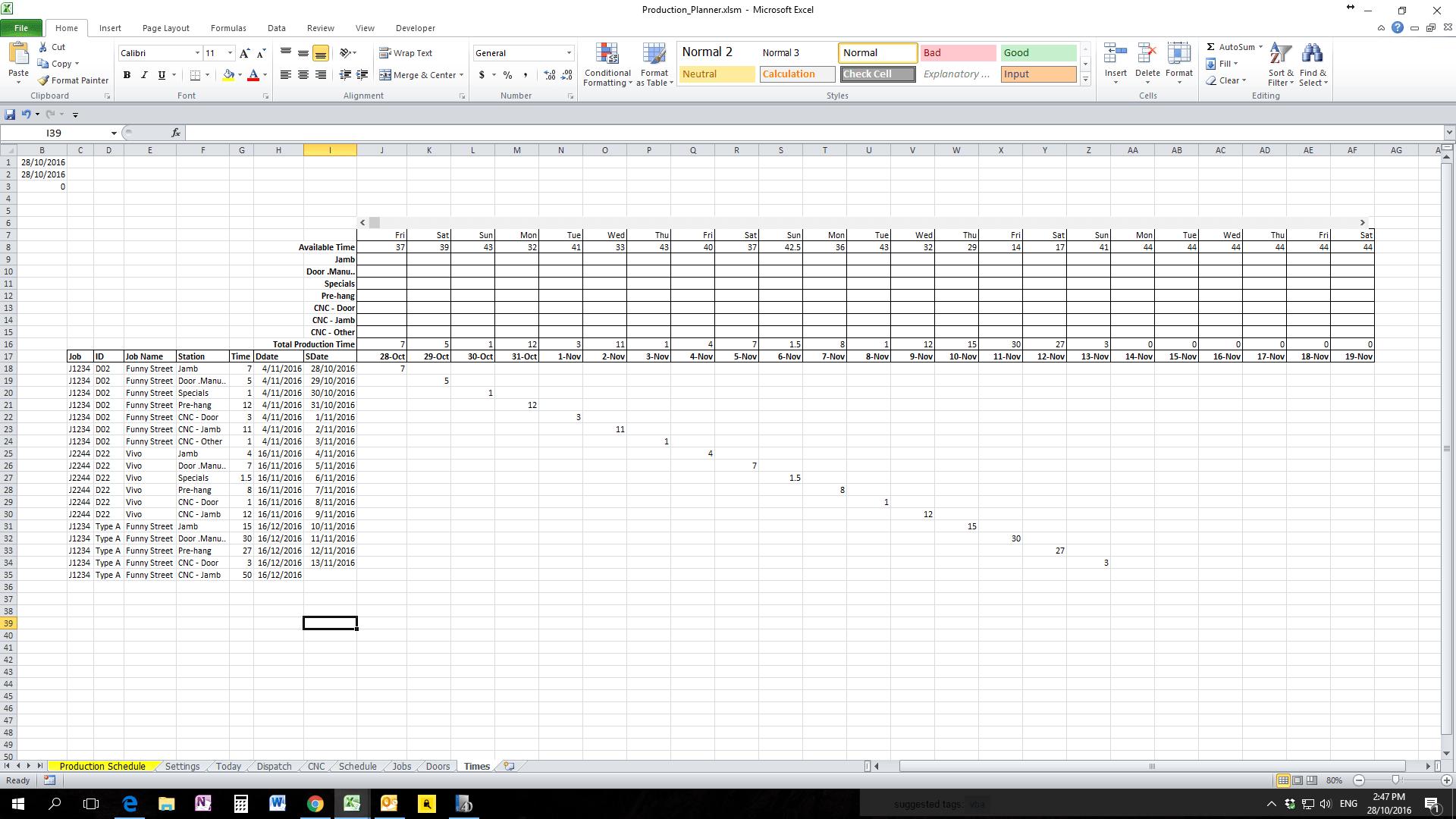 C Excel Worksheet Range Exle