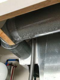 Insulating sweating HVAC duct | DiyXchanger ...