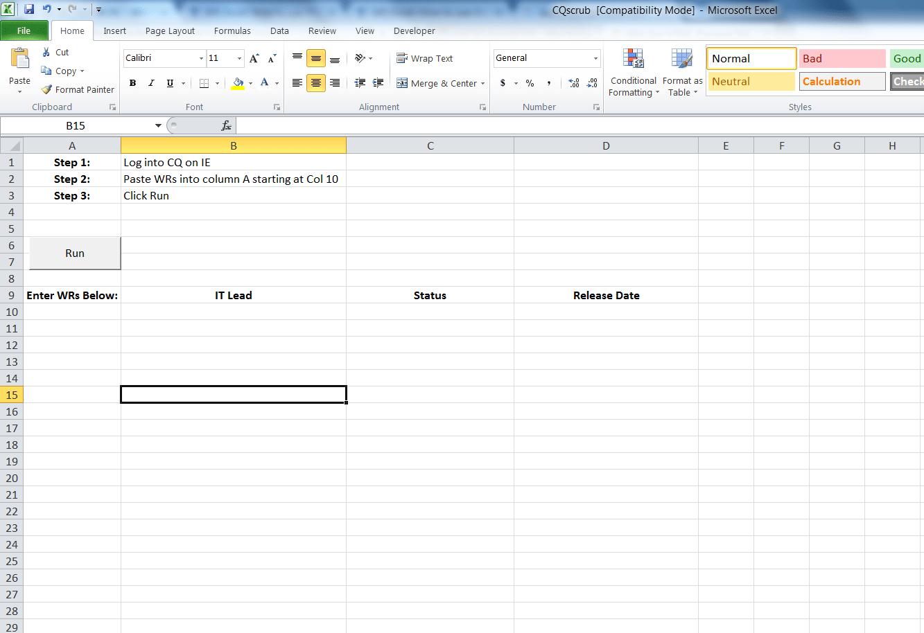 Worksheetfunction Counta Column