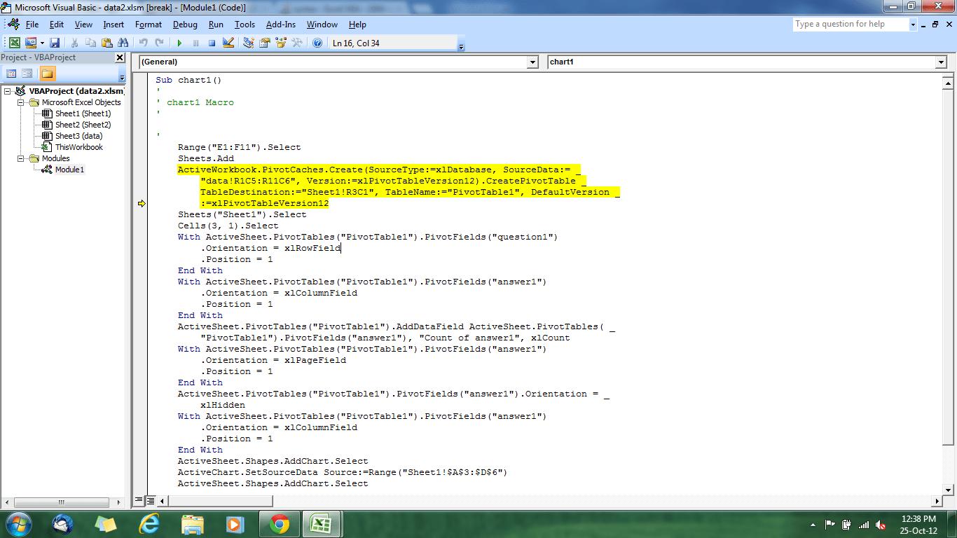 Runtime Error Vba