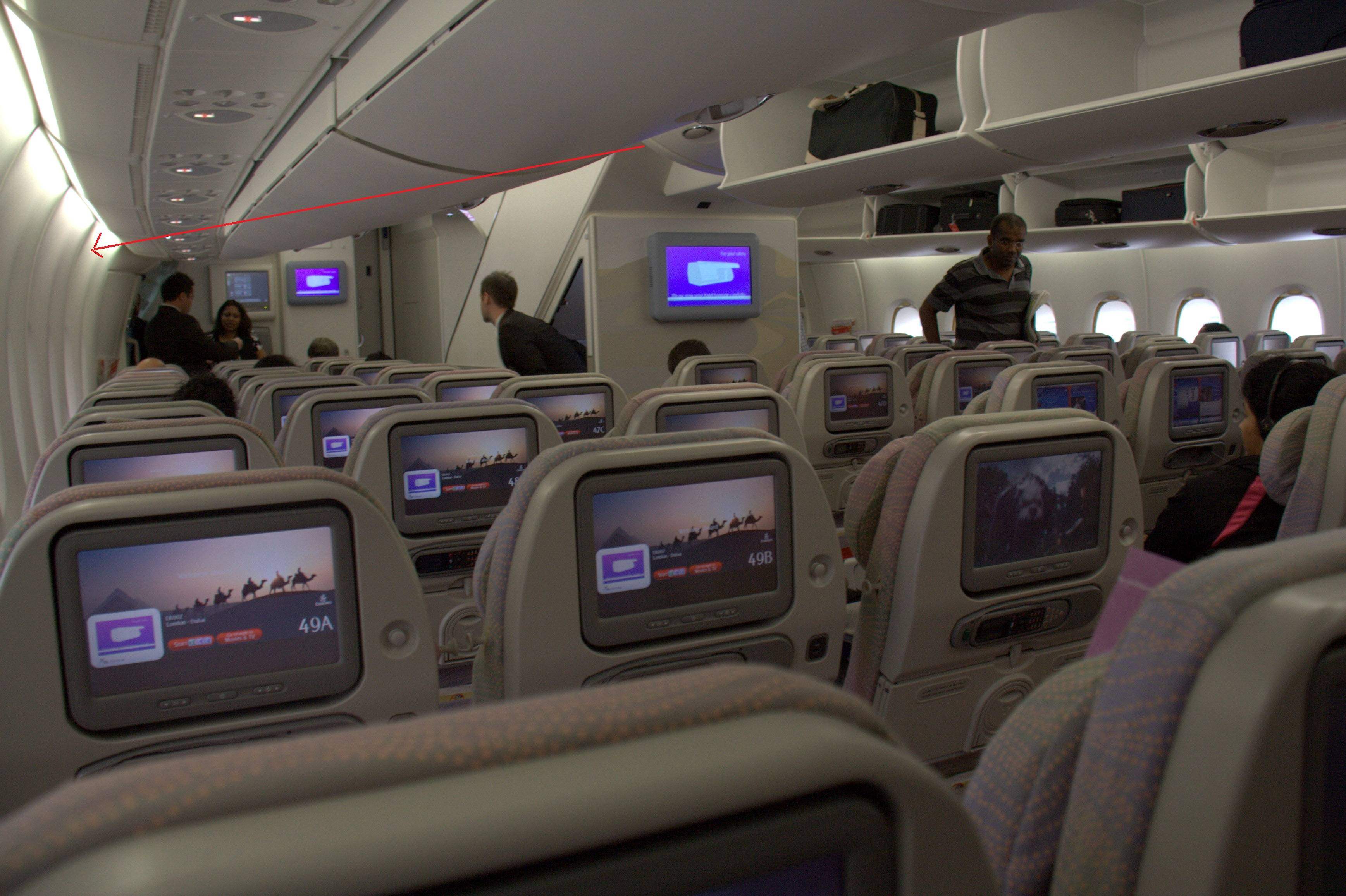 Airliner Why Is The Lower Deck Of The Airbus A380 Curved