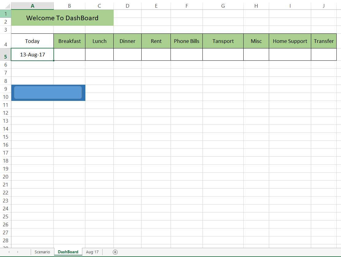 Excel Data Entry With Date Matching Plus Move To Another