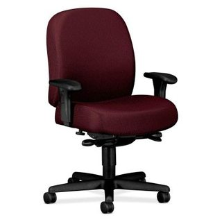 swivel chair em portugues knoll chadwick task cleaning how do i remove hairs from a caster wheel on roller hon pyramid 3528 big and tall mid back
