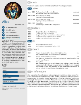 packages  LaTeX template for resumecurriculum vitae  TeX  LaTeX Stack Exchange