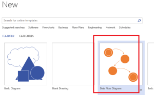 Simplest way to design classic FSMs in Microsoft Visio