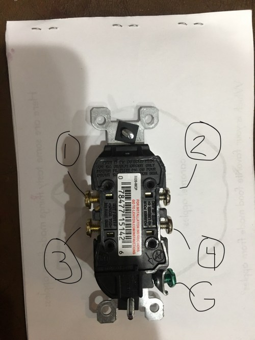 small resolution of  switch new plug with posts labeled for reference enter image description here electrical