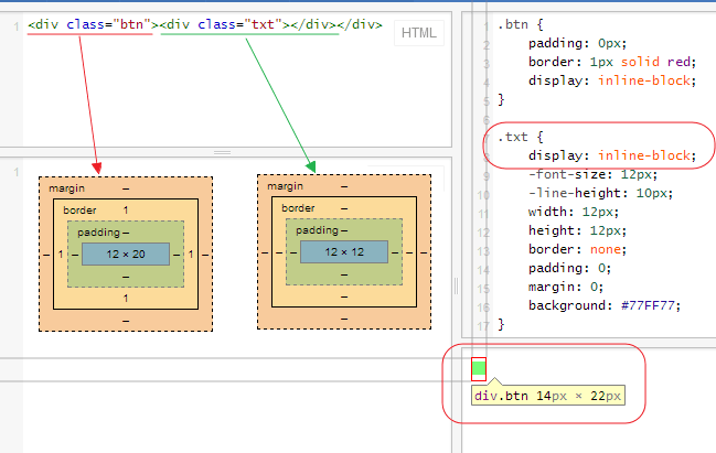 html - Why display=inline-block adds uncontrollable vertical margins - Stack Overflow