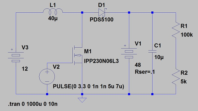 Wiring Diagram For Golf Cart Batteries Microcontroller 48vdc Sla Charger From 12vdc Supply