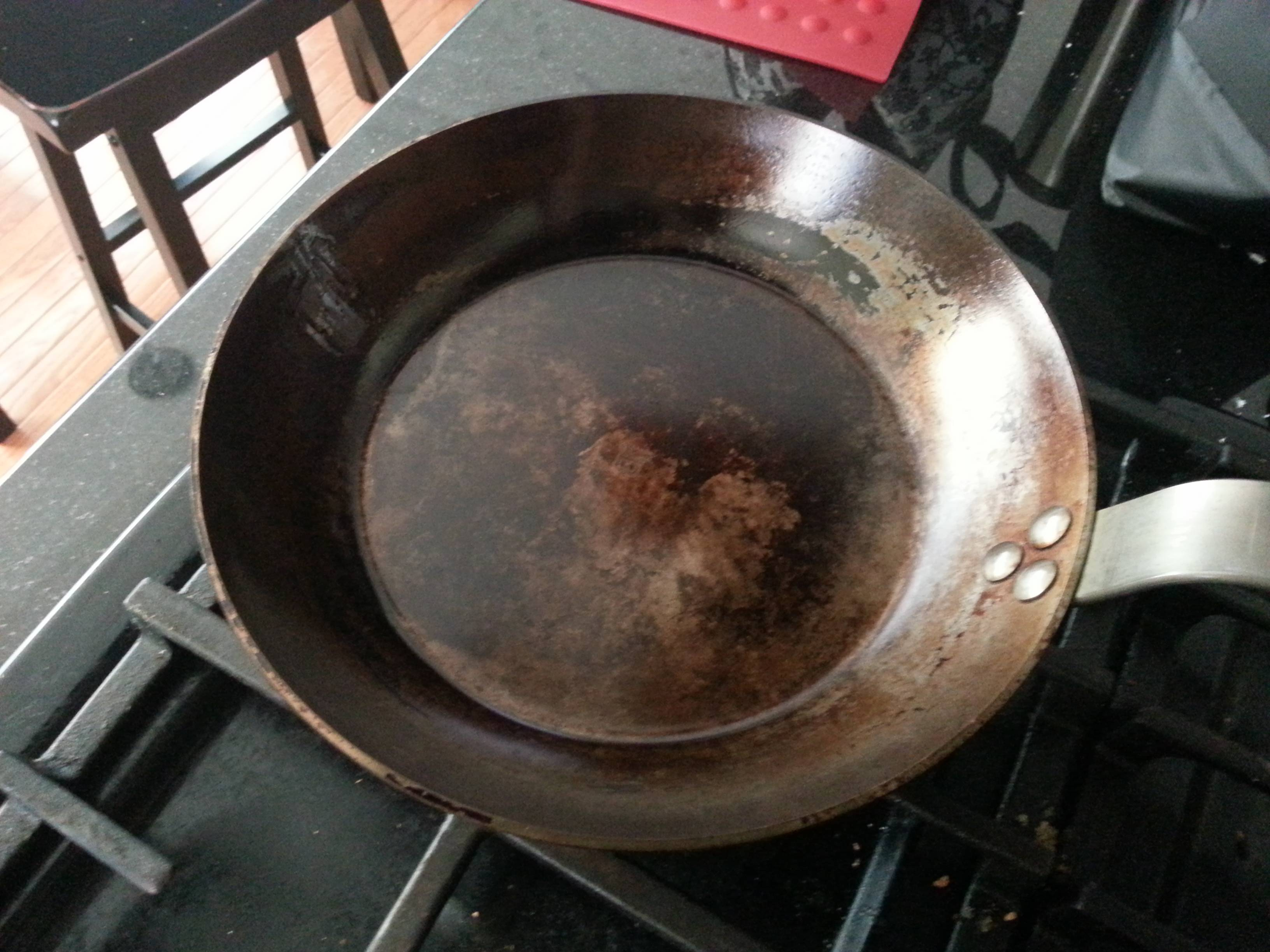 frying pan is there