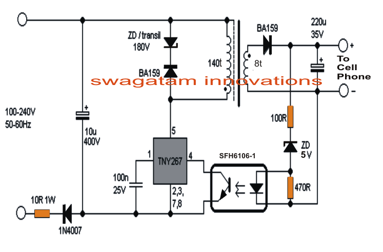 Feasibility of very high temperature ac-dc switching power