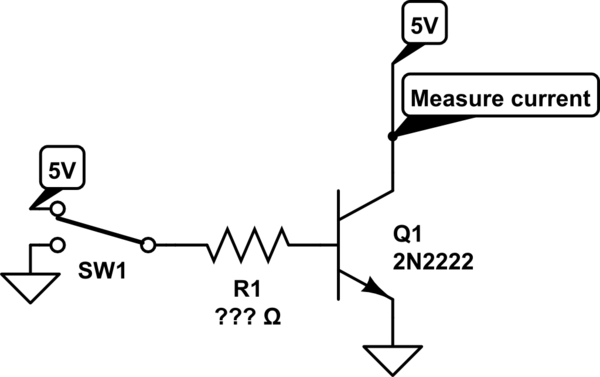 Saving a resistor on an NPN transistor current source