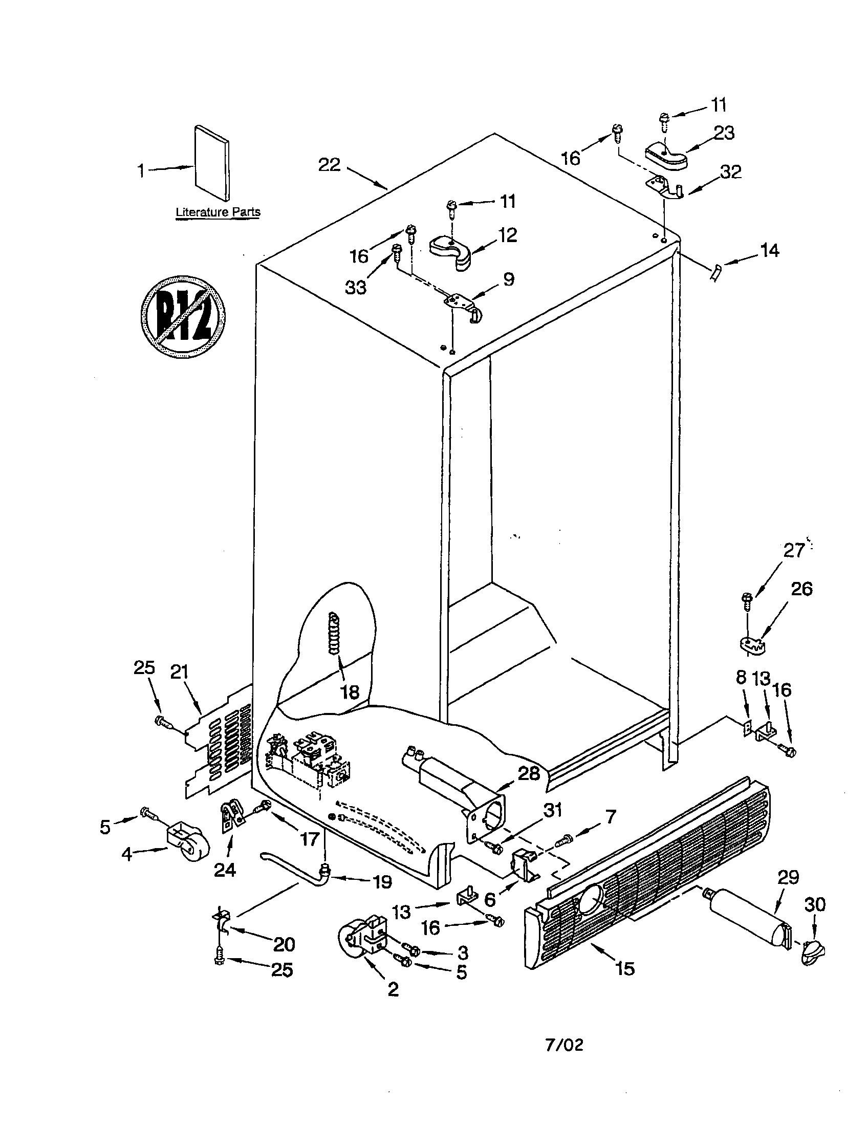 Refrigerated Refrigerator Water Line