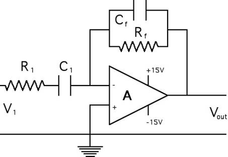 Order of resistor/capacitor in bandpass/highpass filter