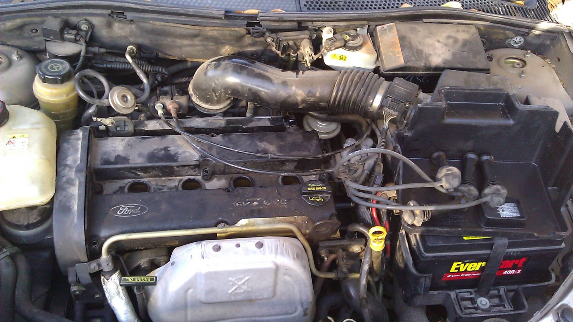 hight resolution of engine with valve cover removed from far away engine from far away