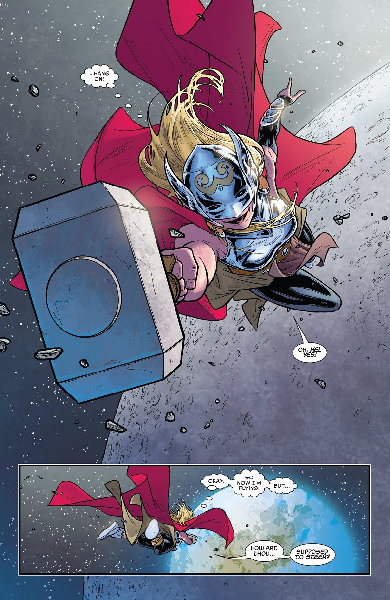 Marvel Comics How Does Thor S Flight Work Exactly