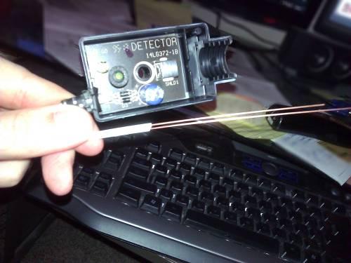 small resolution of enter image description here garage door opener wire