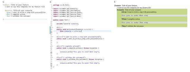 Scenario.write on Cucumber Java- HTML Reports - Stack Overflow