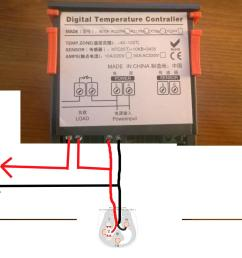 wiring temperature controller diagram data schemaadvice on wiring power supply to digital temperature controller wiring stc [ 1632 x 1300 Pixel ]
