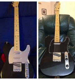 telecaster before and after [ 1024 x 1024 Pixel ]