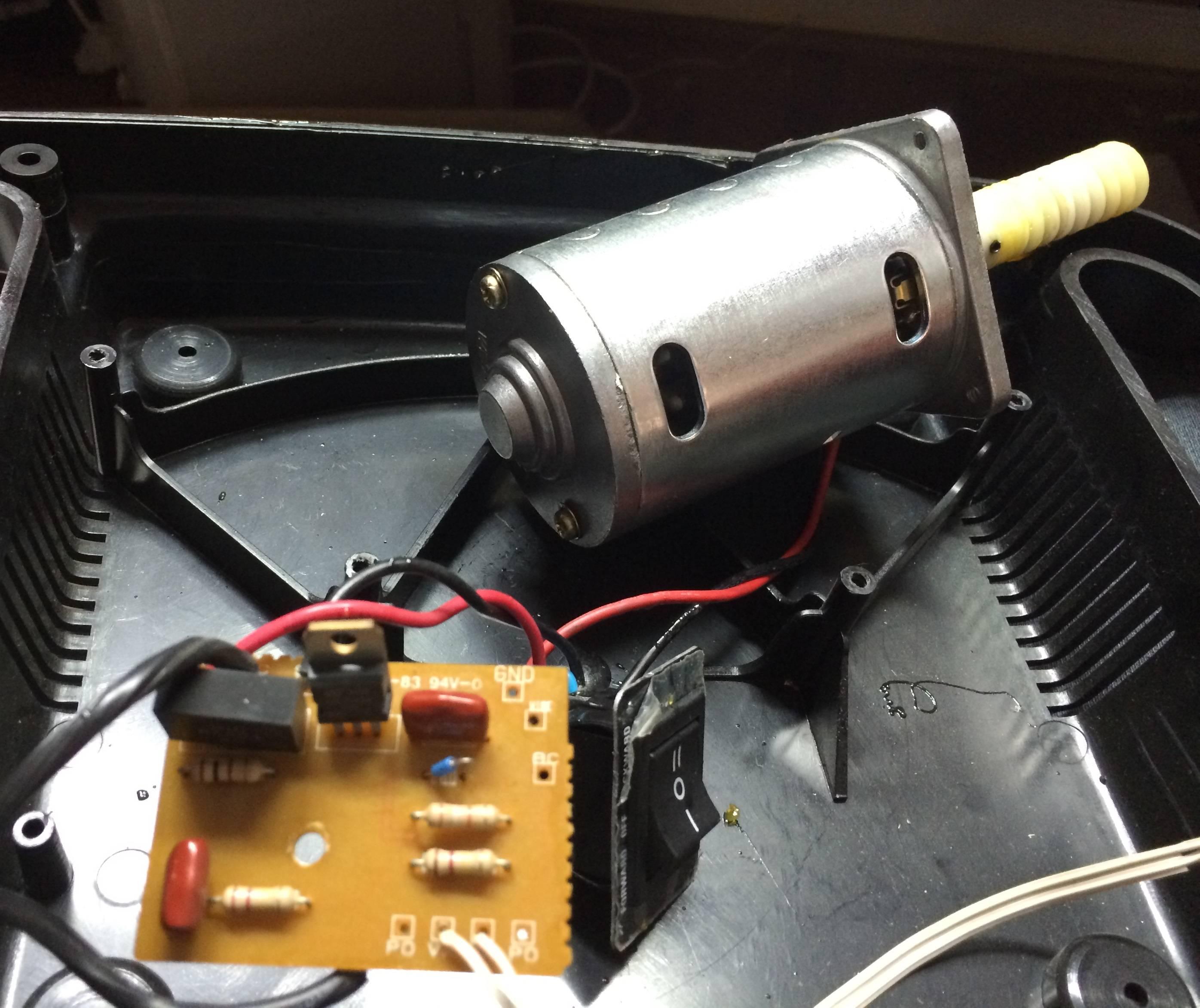 High Voltage Motor Wiring