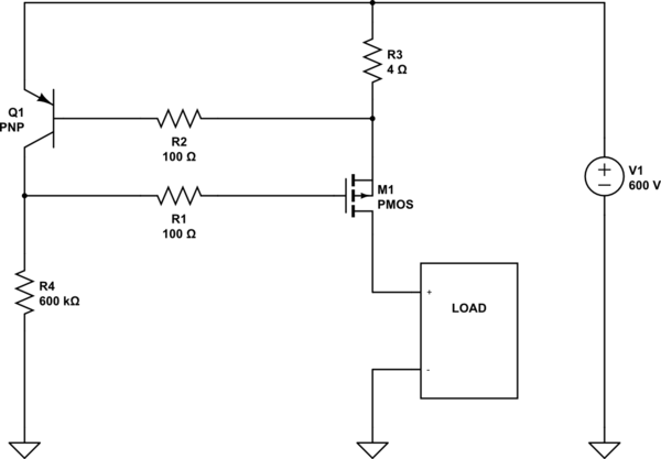 simple current limiting circuit