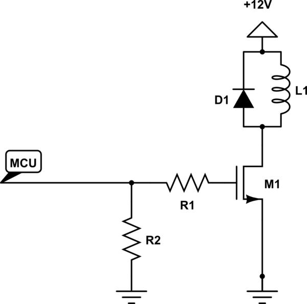 solenoid driver schematic