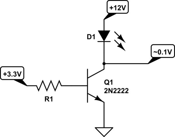 pir sensor wiring diagram jayco trailer led not triggering p2n2222 electrical engineering schematic