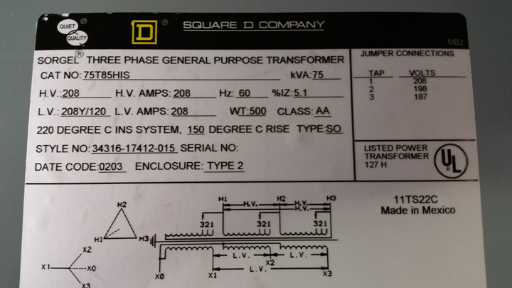 208v Transformer Wiring Diagram Get Free Image About Wiring Diagram