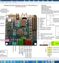 i have attached the schematic of multiwii 328p and turnigy 9x 9ch receive enter image [ 1280 x 1024 Pixel ]
