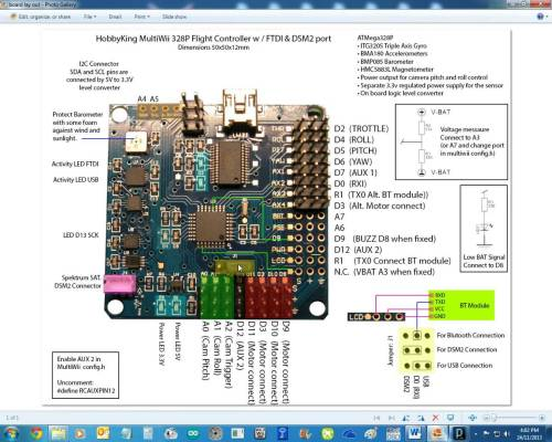 small resolution of i have attached the schematic of multiwii 328p and turnigy 9x 9ch receive enter image