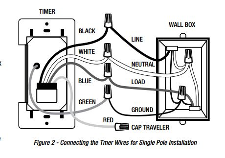3 way switch wiring diagram leviton residential water softener hook up - changing out programmable light switch, wire help needed! home improvement stack exchange